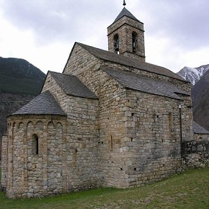 Iglesias románicas catalanas de Vall del Boí