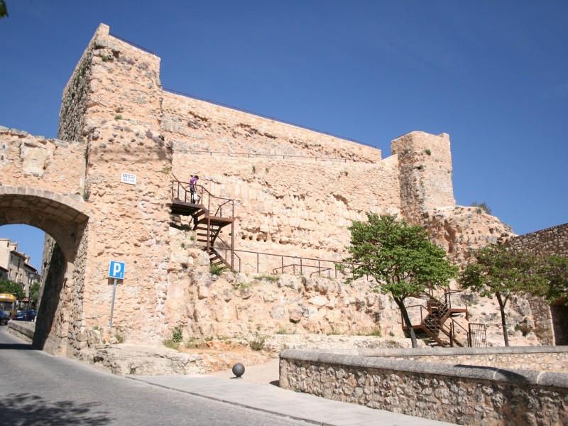 Las ruinas del castillo