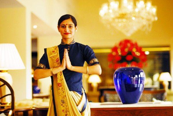 El saludo en la India