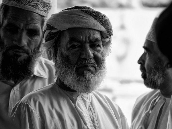 El saludo en Omán