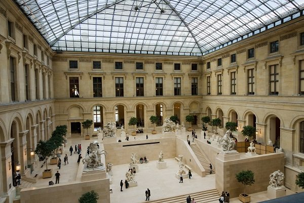 El Museo del Louvre en cifras