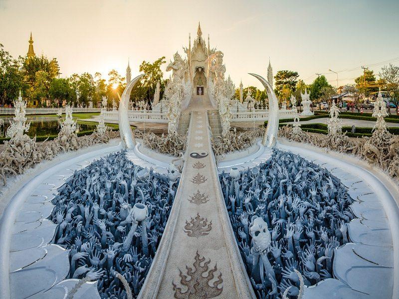 Wat Rong Khun (Chiang Rai, Tailandia)