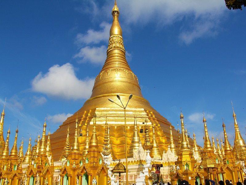 Shwedagon Pagoda (Rangún, Myanmar)