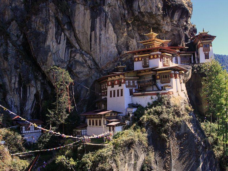 Nido del Tigre (Himalaya, Bután)