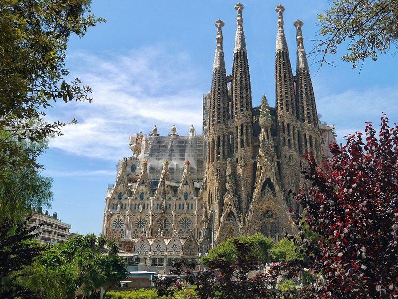 Templo de la Sagrada Familia (Barcelona, España)