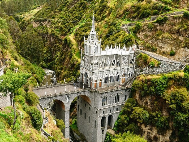 Santuario de las Lajas (Ipiales, Colombia)