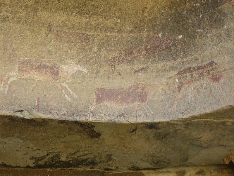 Pinturas de Ukhahlamba-Drakensberg (Sudáfrica)