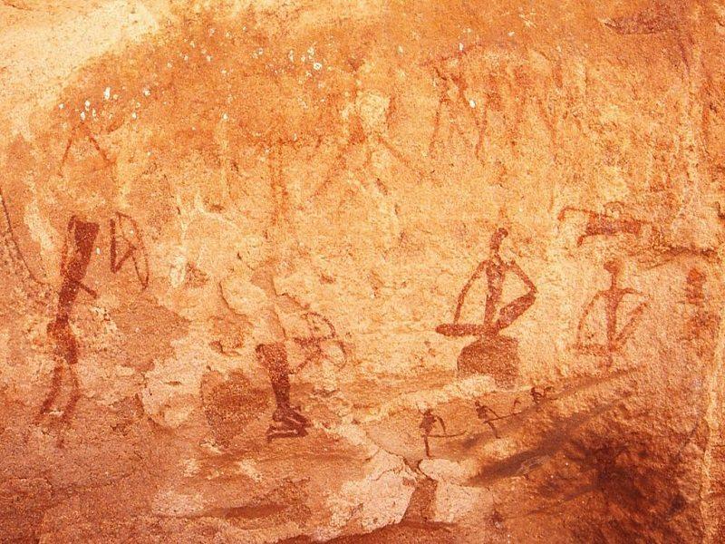 Pinturas de Twyfelfontein (Namibia)