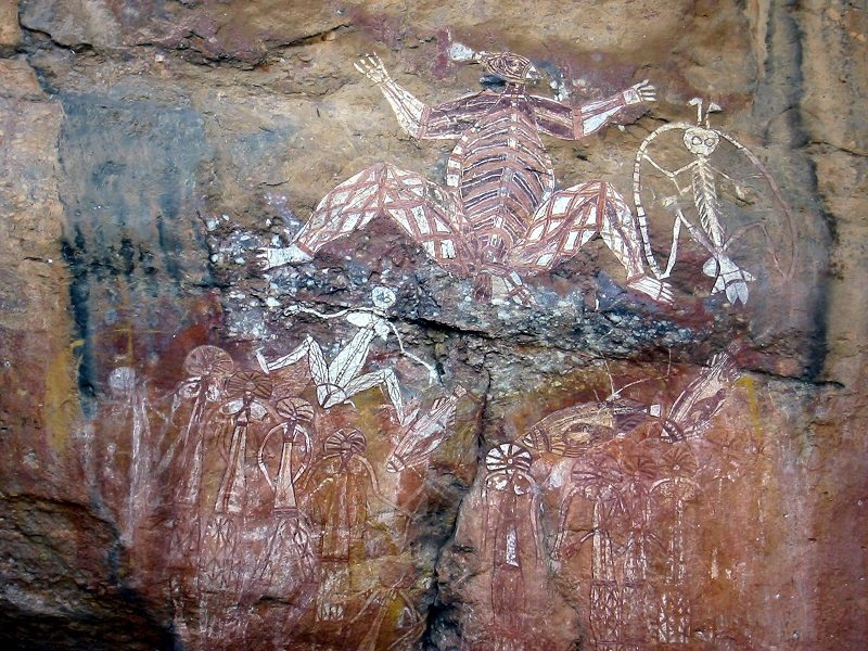 Pinturas rupestres de Kakadu (Australia)