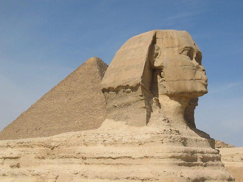 Pirámides de Gizah y Gran Esfinge (El Cairo)