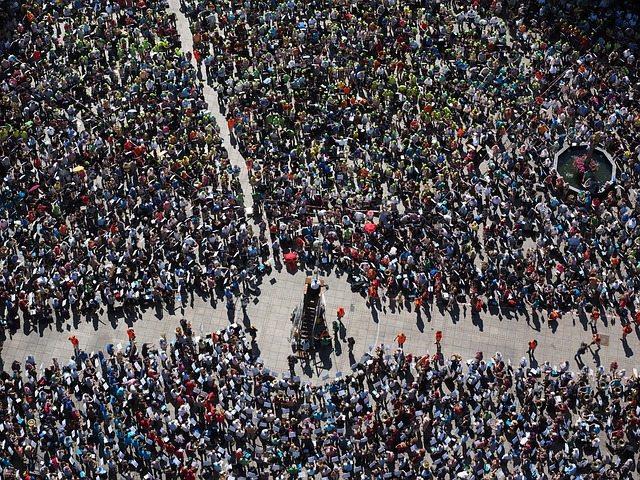 Evitar las multitudes