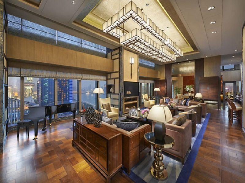 The Presidential Suite, Mandarin Oriental Hotel (Shanghai)