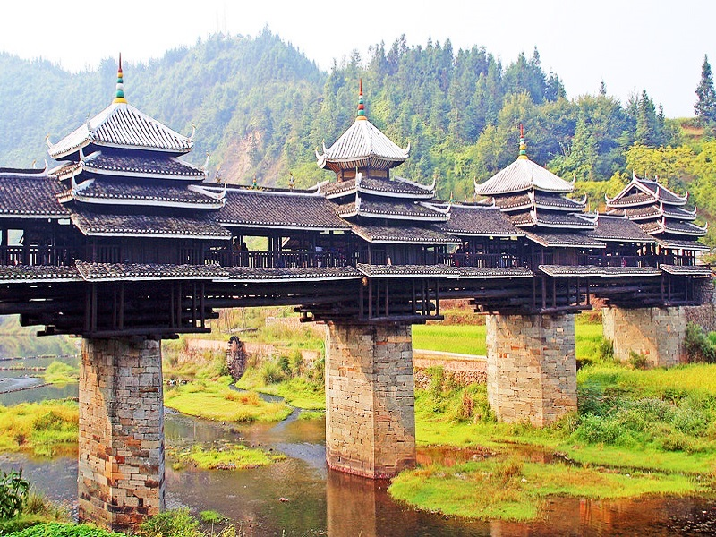 Puente Chengyang, Sanjiang (China)