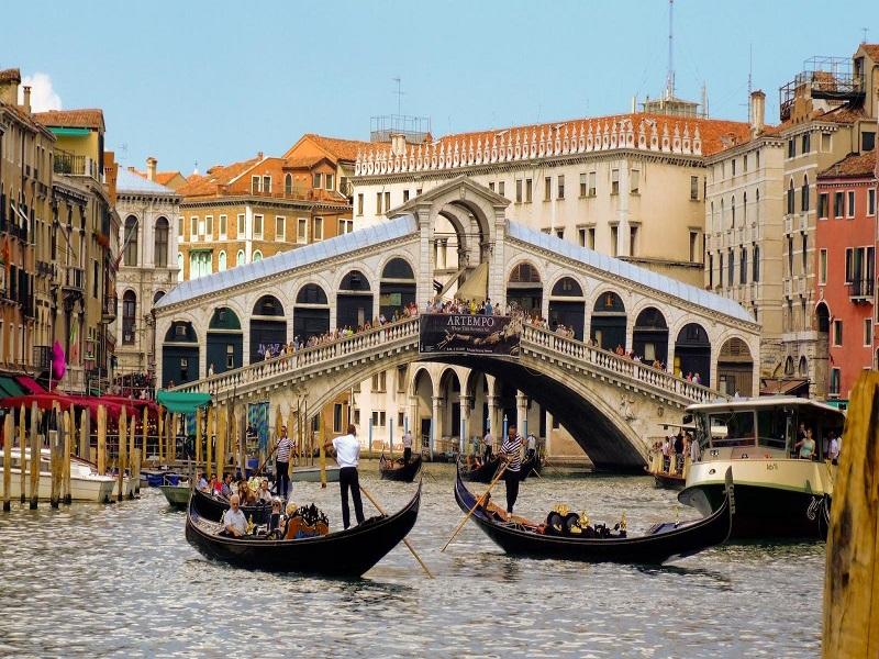 Puente Rialto, Venecia (Italia)