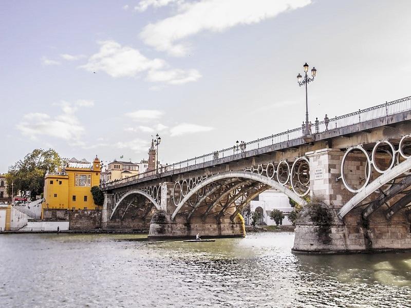 Puente de Triana, Sevilla (España)