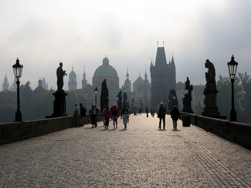 Puente de Carlos IV, Praga (Rep. Checa)