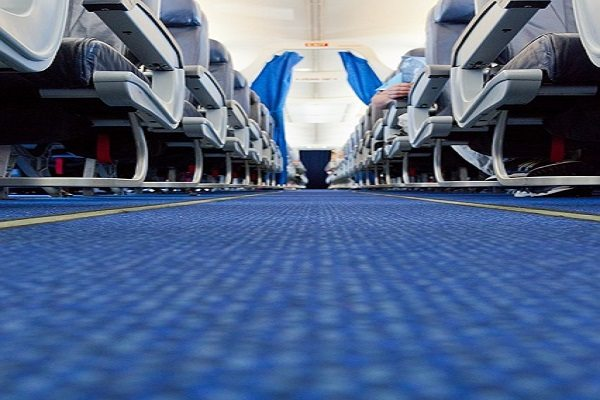 Elegir asientos situados junto al pasillo