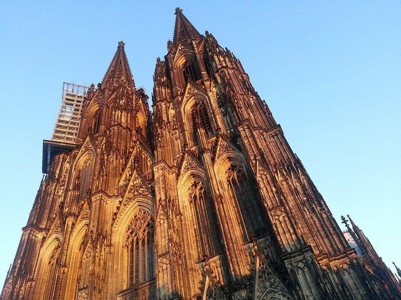 Catedral de Santa María y San Jorge en Colonia (Alemania)