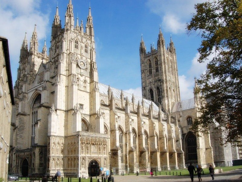 Catedral de Canterbury, Inglaterra (Gran Bretaña)