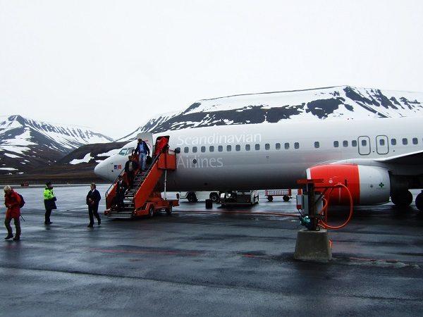 Aeropuerto de Svalbard, (Noruega)