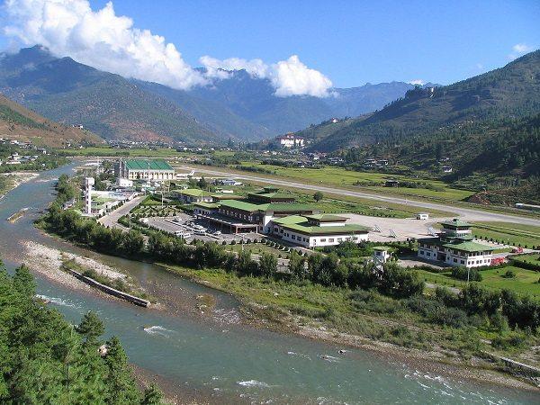 Aeropuerto Internacional de Paro, (Bután)