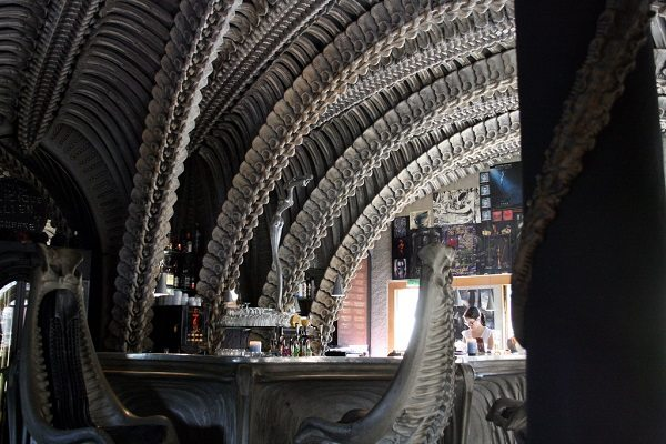 Giger Bar, Gruyères (Suiza)