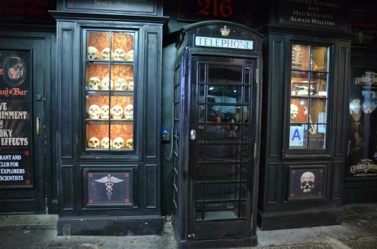 El club del Dr. Jekyll y Hyde, Nueva York (Estados Unidos)