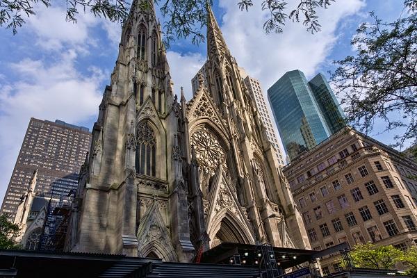 Entrar en la Catedral de San Patricio