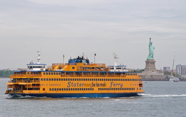 Tomar el ferry de Staten Island