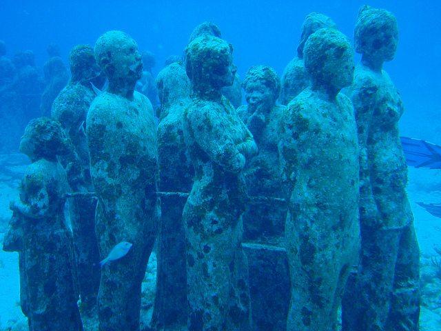 Museo subacuático de Cancún (México)