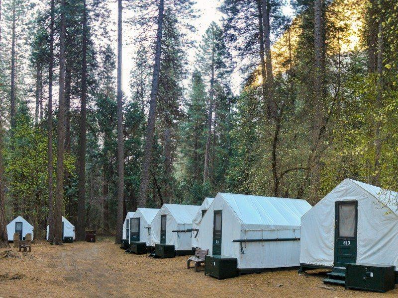 Instalaciones de camping