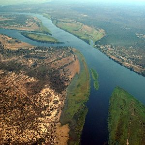 Río Zambeze (Zambia)