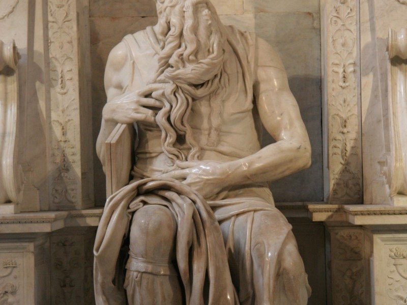 La Piedad y el Moisés de Miguel Ángel