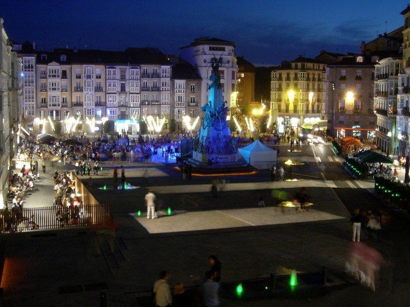 La Plaza de la Virgen