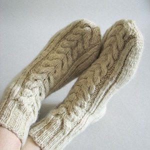 Medias térmicas y calcetines de lana