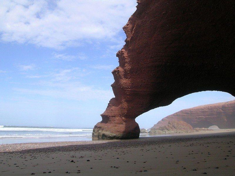 Playa de Legzira (Sidi Ifni)