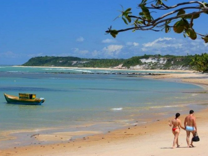Praia do Espelho (Bahía)