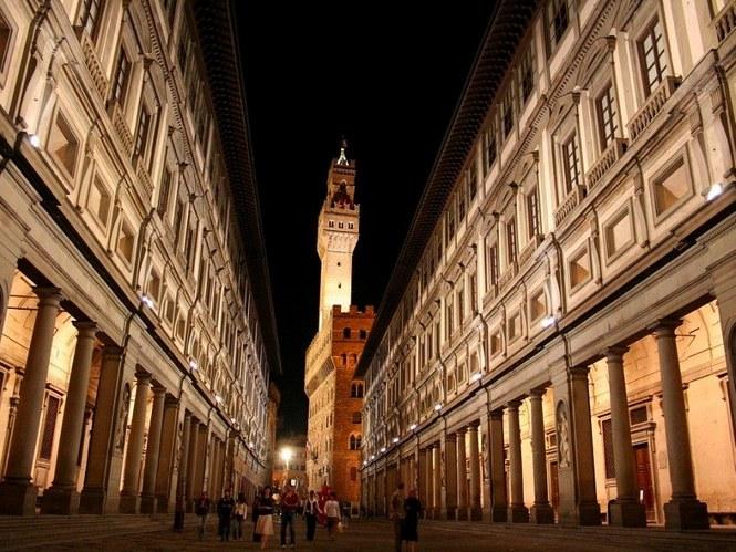 La Galería de los Uffizi de Florencia